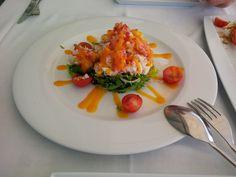 Mango crab salad @ Restaurant IBO