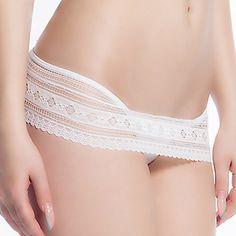 aeffef079   4.99  Women s Ultra Sexy Panties Jacquard Low Waist