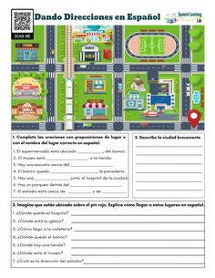 Spanish Worksheets, Spanish Games, Spanish Vocabulary, Spanish Lessons, Spanish Classroom Activities, Spanish Teaching Resources, Classroom Games, Classroom Resources, Printable Preschool Worksheets