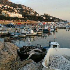 Aprofitem el Regrann from @campingjoncarmar per recordar-vos que reprenem les visites al Port de pesca #aRoses !! #inCostaBrava #pescadorsderoses #castelldelatrinitat #inRoses #visitRoses