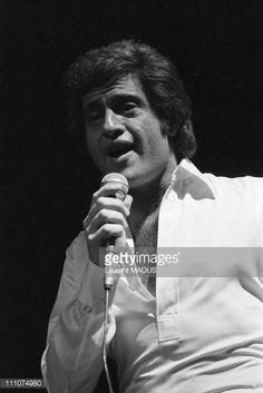 Joe Dassin at the Olympia Hall in Paris, France on February 03rd ,...