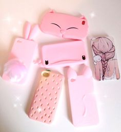 Find images and videos about pink, rose and iphone on We Heart It - the app to get lost in what you love. Girly Phone Cases, Iphone Cases, All Things Cute, Girly Things, Pink Images, Cool Cases, Silicone Phone Case, Tablets, Coque Iphone