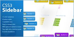 CSS3 Sidebar - vertical & horizontal . CSS3 Sidebar – vertical &