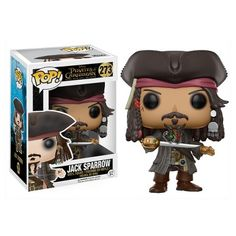Pirates of the Caribbean Jack Sparrow Pop! Vinyl Figure from Funko. Perfect for any Company_Funko Product Type_Pop! Vinyl Figures Theme_Pirates of the Caribbean fan! Disney Pop, Disney Pixar, Disney Time, Funk Pop, Figurine Disney, Pop Figurine, Figurines D'action, Pop Vinyl Figures, Pop Figures Disney