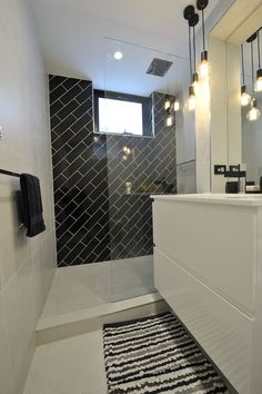 Looking for something different? Why not try subway tiles laid on a diagonal! #TileSensations