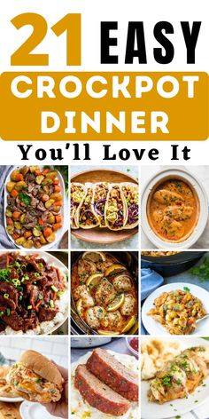 Slow Cooker Recipes, Slow Cooker Freezer Meals, Best Crockpot Recipes, Crockpot Dishes, Crock Pot Cooking, Crockpot Meals, Easy Cooking, Cooking Recipes, Clean Meals