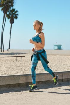 670e6220290c7 Vita Sidorkina wears a mix of sports bras stars in Forever 21 2016 activewear  campaign Sport