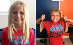 5. Этот 8-летний мальчик два года терпел издевательства сверстников, пока отращивал волосы, которые потом отстриг и пожертвовал на парики детям, больным раком