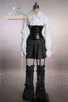 Gothic Lolita Punk Pants Warmings+Skirt <<< ohhhhhhhh