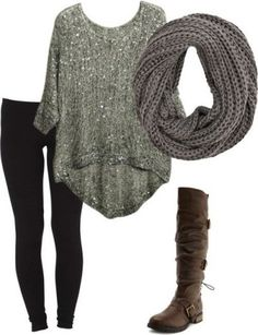 You can never go wrong with the basic winter outfit.