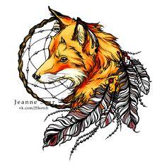 Fox by Jeanne-Saar.deviantart.com on @DeviantArt