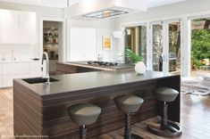 - Fabulous and Functional - Steve Gray Renovations - Modern Kitchen.  Stools from HouseWorks