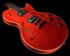 Collings Soco 16 LC Electric Guitar Faded Cherry