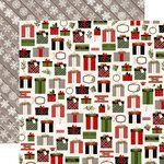 Carta Bella Paper - Christmas Delivery Collection - 12 x 12 Double Sided Paper - Pretty Presents