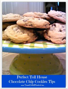My Tips For Perfect Toll House Chocolate Chip Cookies (good-bye flat and hard cookies) I've been making these cookies for almost 30 years!