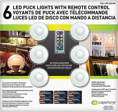 $4 OFF NO LIMIT. Capstone LED Puck Lights 6 ct.  Item 862760.  Valid  Sep 1…