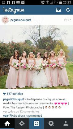 Bouquet noiva e madrinhas