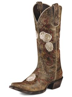 Western Cowboy Boots I Love ARIAT own these! my favorite pair!