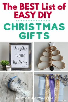 Here is the BEST list of EASY DIY Christmas Gifts!  Save some money and craft it yourself this year!  #christmasgiftideas #diychristmasgifts #homemadechristmasgifts Christmas Crafts For Adults, Easy Diy Christmas Gifts, Christmas On A Budget, Easy Diy Gifts, Homemade Gifts, Christmas Fun, Christmas Recipes, Christmas Ornament, Xmas
