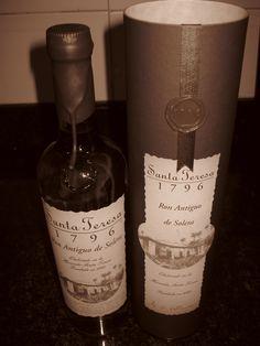 Ron Premium Santa Teresa 1796, Ron de Venezuela!! Santa Teresa, Ron, Cigars, Spirit, Country, Bottle, Beautiful, The World, Venezuela