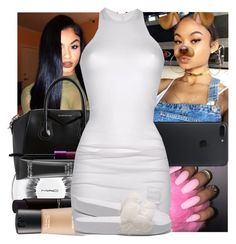 """""""India Westbrooks"""" by slayed-fashion ❤ liked on Polyvore featuring Givenchy, MAC Cosmetics, DRKSHDW and Puma"""