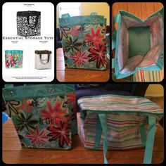 Essential Storage Tote! You can fit 3 of these in a deluxe utility! Brilliant!  www.mythirtyone.com/501264