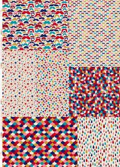 Panneau Méli-Mélo coloris pomme d'amour ~70x100 cm - Tissus personnalisés/Aime comme Marie - Motif Personnel