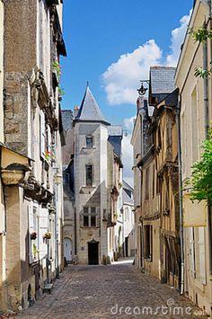 Angers ~ Loire Valley ~ France ~ Rue Saint Aubin