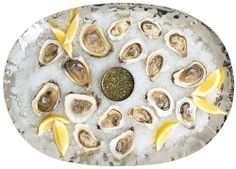 Oysters on the half shell | domino.com