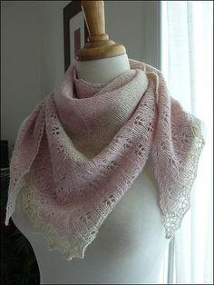 Ravelry: Oaklet Shawl pattern by Megan Goodacre free Knitted Shawls, Crochet Scarves, Crochet Shawl, Knit Crochet, Lace Shawls, Shawl Patterns, Knitting Patterns Free, Free Pattern, Stretchy Bind Off