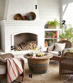 5 Ways to Get This Look: Outdoor Living Room