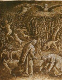 Stradano, Jan van der Straet - Inferno, Violent Against Themselves. 1588