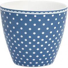GreenGate Latte Cup - Spot Indigo