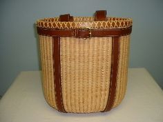 Nantucket Backpack ~ hand woven, original Nantucket basket
