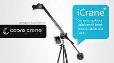 iCrane by cwaldeck. this is a short video about our iCrane project. could not put much time into it, but i hope it helps to give you a good idea about the iCrane ;-). find more information at (if you are fast, you can get an iCrane for 199 EUR!!!):