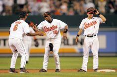 Mora, Tejada & Roberts Baltimore Orioles, Sports, Tops, Hs Sports, Sport