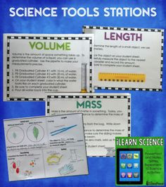 Science Tools Stations for Upper Elementary (and much more in iLearn Science) $