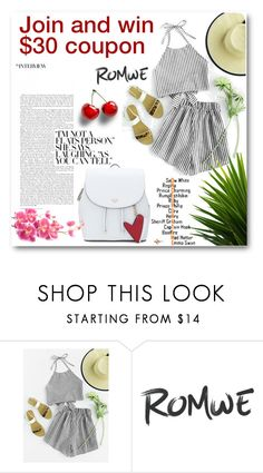 """""""Romwe Contest"""" by tanja133 ❤ liked on Polyvore featuring Disney"""
