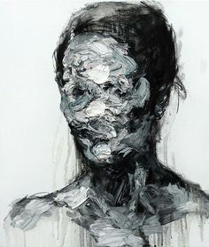 KwangHo Shin is a Korean artist based in Seoul. He uses oil painting and charcoal on canvas to create very unique portraits. The abstract style result in very intriguing paintings. If you want to see more impressive works, take a look at his Behance. Abstract Portrait, Portrait Art, Arte Inspo, A Level Art, Identity Art, Hidden Identity, Fine Art, Art And Illustration, Art Plastique