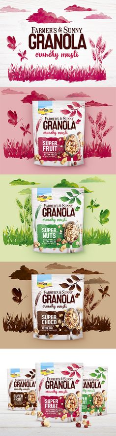 Farmers & Sunny Granola Cereal