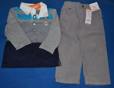 NWT Gymboree 18-24 Months Boy's Two Piece Polo Outfit Set #Gymboree #Casual