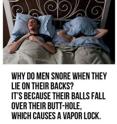 Why Men Snore