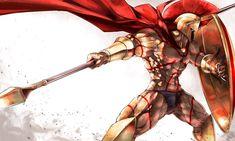 Leonidas mi tropa favorita de fate grand order Knight Armor, Fate Anime Series, How To Make Comics, Fate Zero, Fantasy Weapons, Type Moon, Medieval Art, Fate Stay Night, Manga Drawing