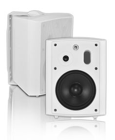 OSD Audio AP640T-Wht 6.5-Inch 2-Way 8 Ohm/70V Commercial Indoor/Outdoor Speaker (Pair, White) by OSD Audio. $93.42. The AP640T Wht is a 6.5 inch 2 way stereo pair of Indoor/Outdoor Speakers featuring flexible mounting system and multiple connection options including standard 8 ohm and 70V settings (30W, 15W, 8W and 4W). It features all weather versatility and power handling from 10 to 150 watts. Available in white and black finish.