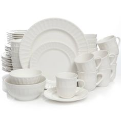 Product Image for Gibson Home Heritage Place 48-Piece Dinnerware Set 1 out of 2