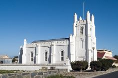 Garrison Church, 1841, Robben Island,South Africa Mosques, Cathedrals, Homeland, Cape Town, Notre Dame, South Africa, Safari, Road Trip, Wildlife