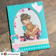 #Repost @pinkzebrapc ❤️ ・・・ New challenge at Get Creative Challenge Blog today. Add hearts. Come join us. #getcreativechallenge #charliesstamps #cat #love #hearts #kimlamoa My Images, Thats Not My, Join, Hearts, Challenges, My Love, Creative, Blog, Inspiration