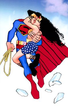 Superman & Wonder Woman by Frank Miller