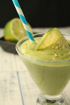 Key lime pie smoothie  This sounds sooo yummy! Can't wait to blend one up!
