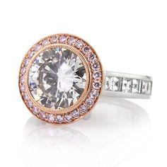 7.23ct Round Brilliant Cut Diamond Engagement Anniversary Ring